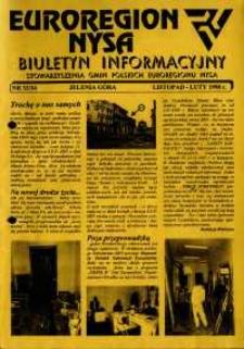 Euroregion Nysa : biuletyn informacyjny Stowarzyszenia Gmin Polskich Euroregionu Nysa, 1998, nr 33-34