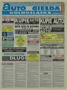 Auto Giełda Dolnośląska : regionalna gazeta ogłoszeniowa, 2000, nr 95 (723) [28.11]