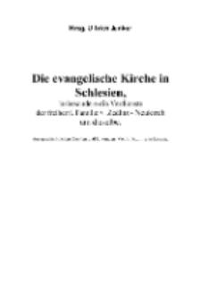 Die evangelische Kirche in Schlesien, insbesondere die Verdienste der freiherrl. Familie v. Zedlitz - Neukirch um dieselbe [Dokument elektroniczny]