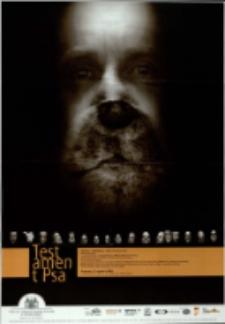 Historia o miłosiernej, czyli Testament psa - plakat [Dokument życia społecznego]