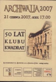 "50 lat Klubu ""Kwadrat"""