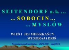Seitendorf - Sobocin - Mysłów : wieś i jej mieszkańcy wczoraj i dziś [Dokument elektroniczny]