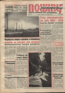 Nowiny Jeleniogórskie : magazyn ilustrowany ziemi jeleniogórskiej, R. 8, 1965, nr 10 (363)