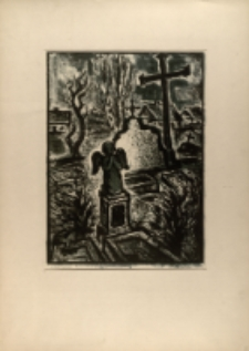 Cmentarz wiejski. Wersja I [Dokument ikonograficzny]