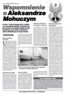 Wspomnienie o Aleksandrze Mohuczym