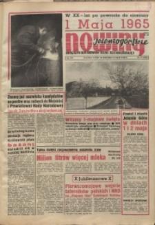 Nowiny Jeleniogórskie : magazyn ilustrowany ziemi jeleniogórskiej, R. 8, 1965, nr 17 (370)