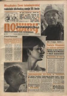 Nowiny Jeleniogórskie : magazyn ilustrowany ziemi jeleniogórskiej, R. 8, 1965, nr 20 (373)