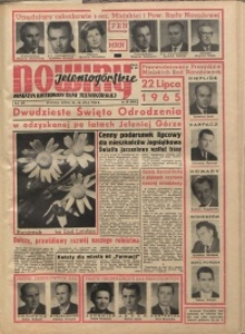 Nowiny Jeleniogórskie : magazyn ilustrowany ziemi jeleniogórskiej, R. 8, 1965, nr 29 (382)