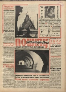 Nowiny Jeleniogórskie : magazyn ilustrowany ziemi jeleniogórskiej, R. 8, 1965, nr 38 (391)
