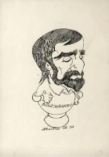 Karykatura Bronisława Wolanina [Dokument ikonograficzny]