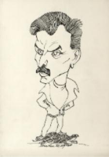 Karykatura Ryszarda Tyszkiewicza [Dokument ikonograficzny]