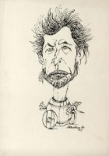 Karykatura Dariusza Milińskiego [Dokument ikonograficzny]