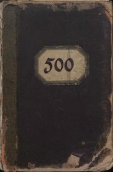 500 [Księga wzorów Huty Josephine]
