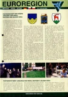 Euroregion Nysa : biuletyn informacyjny Stowarzyszenia Gmin Polskich Euroregionu Nysa, 2005, nr 6