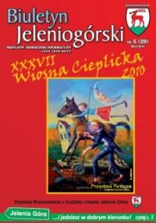Biuletyn Jeleniogórski : bezpłatny miesięcznik informacyjny, 2010, nr 5 (29)