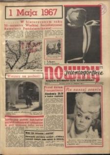 Nowiny Jeleniogórskie : magazyn ilustrowany ziemi jeleniogórskiej, R. 10, 1967, nr 17 (474)