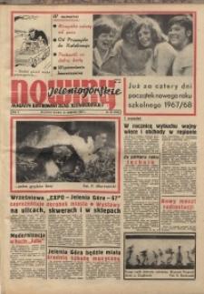 Nowiny Jeleniogórskie : magazyn ilustrowany ziemi jeleniogórskiej, R. 10, 1967, nr 35 (492)