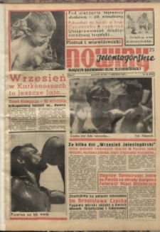 Nowiny Jeleniogórskie : magazyn ilustrowany ziemi jeleniogórskiej, R. 10, 1967, nr 36 (493)