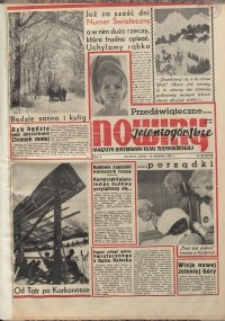 Nowiny Jeleniogórskie : magazyn ilustrowany ziemi jeleniogórskiej, R. 10, 1967, nr 50 (507)