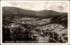 Riesengebirge. Agnetdorf mit Schneegruben und Reifträger [Dokument ikonograficzny]
