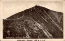 Riesengebirge. Schneekoppe 1605 m [Dokument ikonograficzny]