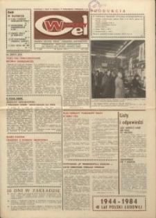 """Wspólny cel : gazeta załogi ZWCH """"Chemitex-Celwiskoza"""", 1984, nr 2 (903)"""