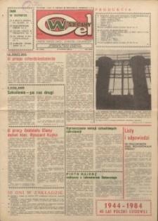 """Wspólny cel : gazeta załogi ZWCH """"Chemitex-Celwiskoza"""", 1984, nr 4 (905)"""