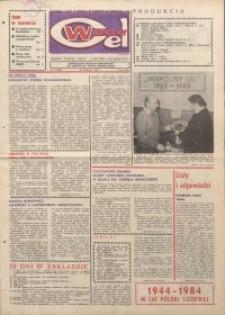 """Wspólny cel : gazeta załogi ZWCH """"Chemitex-Celwiskoza"""", 1984, nr 5 (906)"""