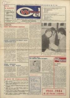 """Wspólny cel : gazeta załogi ZWCH """"Chemitex-Celwiskoza"""", 1984, nr 11 (912)"""