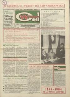 """Wspólny cel : gazeta załogi ZWCH """"Chemitex-Celwiskoza"""", 1984, nr 16 (917)"""