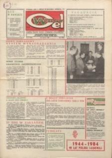 """Wspólny cel : gazeta załogi ZWCH """"Chemitex-Celwiskoza"""", 1984, nr 17 (918)"""