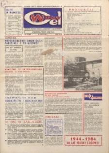 """Wspólny cel : gazeta załogi ZWCH """"Chemitex-Celwiskoza"""", 1984, nr 19 (920)"""