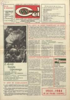 """Wspólny cel : gazeta załogi ZWCH """"Chemitex-Celwiskoza"""", 1984, nr 20 (921)"""