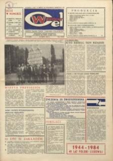 """Wspólny cel : gazeta załogi ZWCH """"Chemitex-Celwiskoza"""", 1984, nr 21 (922)"""
