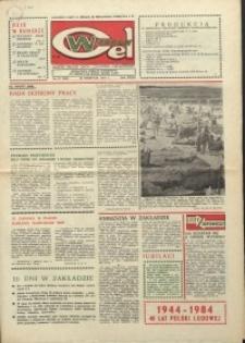 """Wspólny cel : gazeta załogi ZWCH """"Chemitex-Celwiskoza"""", 1984, nr 23 (924)"""
