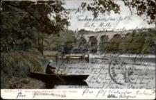 Görlitz. Blick von der Weinlache nach dem Viadukt. [Dokument ikonograficzny]