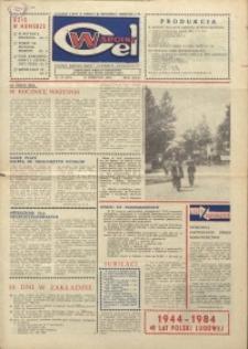 """Wspólny cel : gazeta załogi ZWCH """"Chemitex-Celwiskoza"""", 1984, nr 24 (925)"""