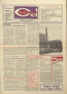"""Wspólny cel : gazeta załogi ZWCH """"Chemitex-Celwiskoza"""", 1984, nr 25 (926)"""
