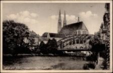 Görlitz/ Schl. Altstadtbrucke mit Peterskirche [Dokument ikonograficzny]