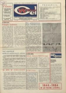 """Wspólny cel : gazeta załogi ZWCH """"Chemitex-Celwiskoza"""", 1984, nr 28 (929)"""