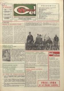 """Wspólny cel : gazeta załogi ZWCH """"Chemitex-Celwiskoza"""", 1984, nr 30 (931)"""