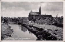 Görlitz. Neisse Blick zur Peterskirche [Dokument ikonograficzny]