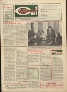 """Wspólny cel : gazeta załogi ZWCH """"Chemitex-Celwiskoza"""", 1985, nr 2 (939)"""
