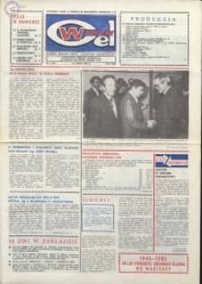 """Wspólny cel : gazeta załogi ZWCH """"Chemitex-Celwiskoza"""", 1985, nr 4 (941)"""