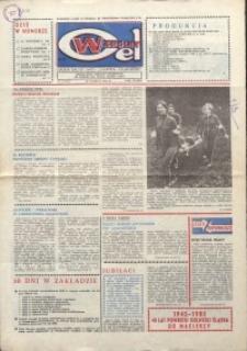 """Wspólny cel : gazeta załogi ZWCH """"Chemitex-Celwiskoza"""", 1985, nr 6 (943)"""