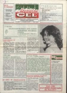 """Wspólny cel : gazeta załogi ZWCH """"Chemitex-Celwiskoza"""", 1985, nr 7 (944)"""