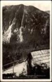Karkonosze - widok na czeską stronę - góra Studnicni Hora  (1557 m n.p.m.) [Dokument ikonograficzny]