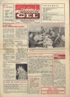 """Wspólny cel : gazeta załogi ZWCH """"Chemitex-Celwiskoza"""", 1985, nr 11 (948)"""