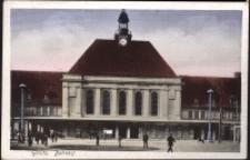 Görlitz. Bahnhof [Dokument ikonograficzny]