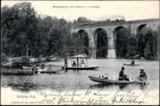 Görlitz. Neisseparthie mit Viaduct u. Laufsteg [Dokument ikonograficzny]